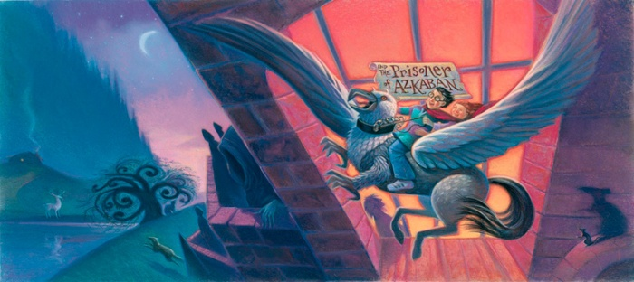 Mary GrandPré – Ilustración para Harry Potter and Prisoner of Azkaban