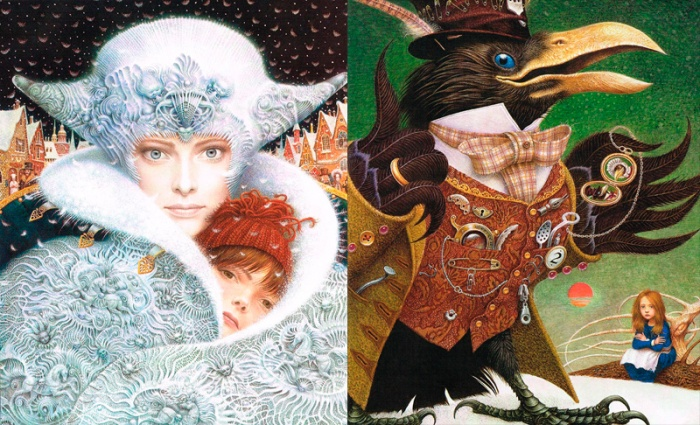 Vladyslav Yerko – Ilustraciones para The Snow Queen.