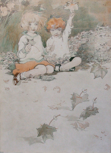 Ilustración de Honor Charlotte Appleton  para The Manufacture of Fairies